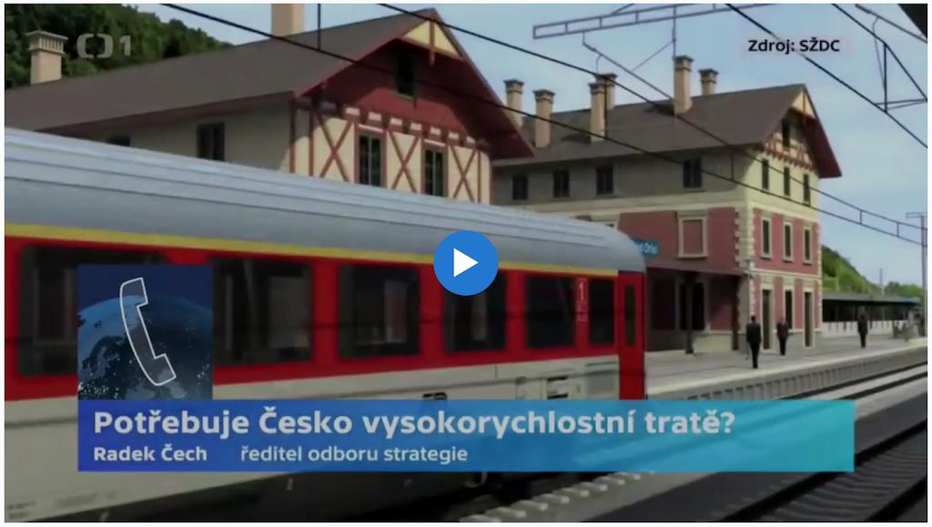 Potřebuje Česko vysokorychlostní tratě?